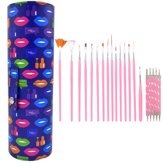 Shop Talk Nail Art Brush & Tool Set