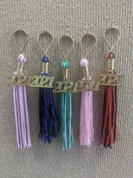2021 Tassel Key Chain
