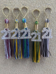 2021 Bling Tassel Key Chain