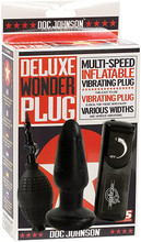 Deluxe Inflatable  Wonder Plug - Black