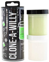 Clone-a-Willy Silicone Refill - Glow in the Dark Green
