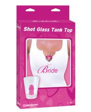 bachelorette shot glass tank top