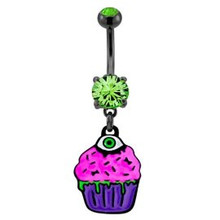 ZOMBIE BELLY RING 4