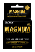 Magnum Condoms 3 Pack