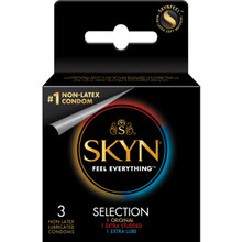Lifestyles Skyn Selection Variety 3 Pack