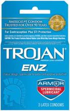 Trojan ENZ Armor Spermicidal 3pk