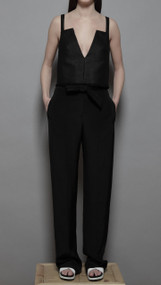 Watz Trouser - Black Crepe
