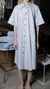 Rist Dress - Oxford Blue