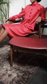Mikeno Dress - Red Window