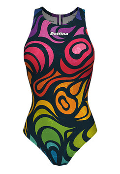 DELFINA FEMALE RAINBOW WATER POLO SUIT