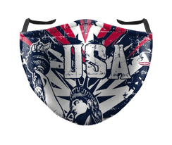 IN STOCK, READY TO SHIP - REUSABLE FACE COVER - FREEDOM