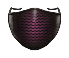 IN STOCK, READY TO SHIP - REUSABLE FACE COVER - BLACK/PINK SHADOW