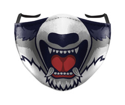 IN STOCK, READY TO SHIP - REUSABLE FACE COVER - MAD DOG