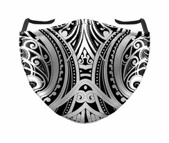 IN STOCK, READY TO SHIP - REUSABLE FACE COVER - MAORI