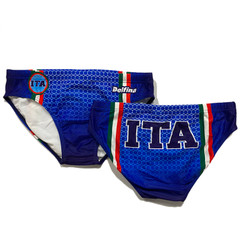DELFINA MALE ITALY BLUE WATER POLO SUIT