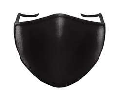 IN STOCK, READY TO SHIP - REUSABLE FACE COVER - SOLID BLACK
