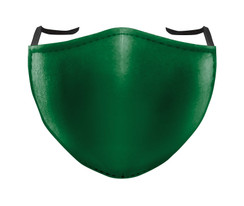 IN STOCK, READY TO SHIP - REUSABLE FACE COVER - SOLID FOREST GREEN