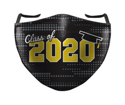 IN STOCK, READY TO SHIP - REUSABLE FACE COVER - CLASS OF 2020