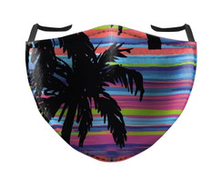 IN STOCK, READY TO SHIP - REUSABLE FACE COVER - SUNSET