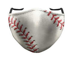 IN STOCK, READY TO SHIP - REUSABLE FACE COVER - BASEBALL