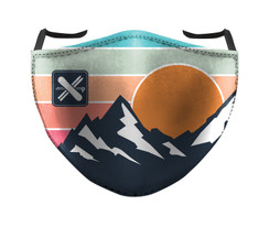 IN STOCK, READY TO SHIP - REUSABLE FACE COVER - ALPINE SPORTS
