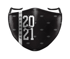 IN STOCK, READY TO SHIP - REUSABLE FACE COVER - CLASS OF 2021