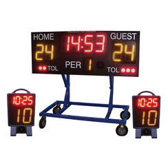 COLORADO MINI WIRELESS WATER POLO SCOREBOARD 3FT LEGS