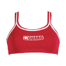 DOLFIN GUARD 2-PIECE BIKINI TOP W/ GUARD LOGO