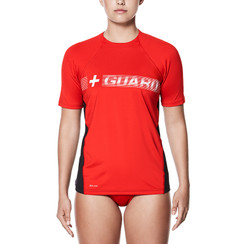 NIKE GUARD - WOMEN'S HYDRO SHORT SLEEVE TOP