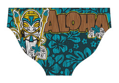 DELFINA MALE ALOHA WATER POLO SUIT