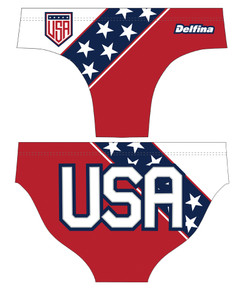 DELFINA MALE USA 2 WATER POLO SUIT