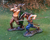 Celtic Advancers - Hand Painted Metal Toy Soldiers