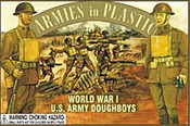 Armies in Plastic 5401 - 1/32 WWI US Army Infantry Doughboys 16 Toy Soldiers