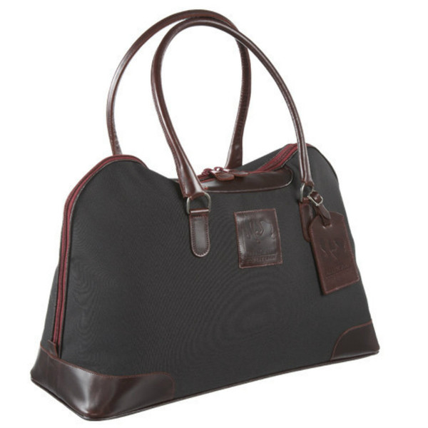 Red Scarf - ProRider City Tote (Black with Burgundy Leather)