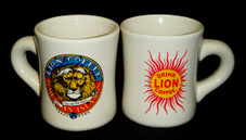 LION COFFEE MUG (SET OF 4)