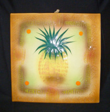 Decorative Pineapple Tile Tan