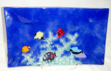 Tropical Fish Glass Scene