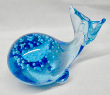 Blue Glass Whale