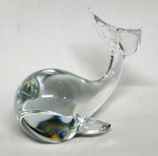 Small Glass Whale