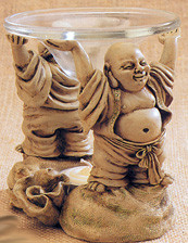 BUDDHA DISH HOLDER
