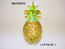 PINEAPPLE - CRYSTAL SWAVORSKI - YELLOW