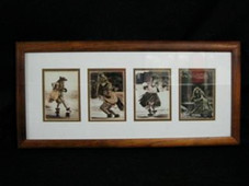 Hawaiin Curly Koa Framed ART - RANDY BRAUN ART of HULA