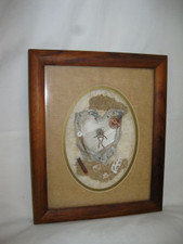 "Hawaiin Curly Koa Framed ART 8"" X 10"" - Petroglyph"