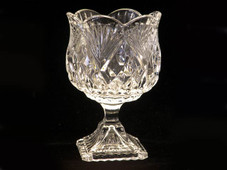 Crystal Pineapple Footed Votive Candy Bowl