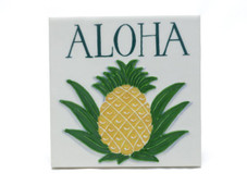 Ceramic Tile - Aloha Pineapple
