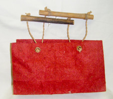 Lupa tote gift bag , red