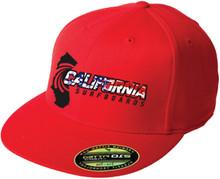 Cal Surf FlexFit FB (USA red)