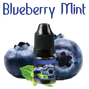blueberry mint vape drops