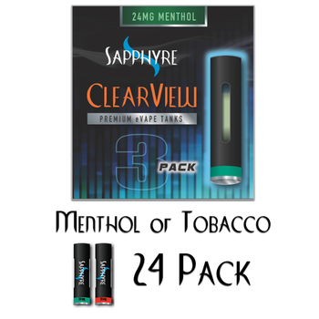 Clearview  E-cig  Tanks