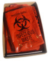Red Biohazard Bags - Large - 35gal. (125 ct)